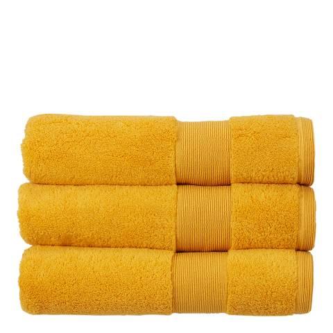 Kingsley Carnival Pair of Hand Towels, Saffron
