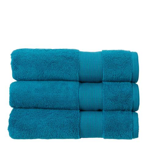 Kingsley Carnival Pair of Bath Towels, Peacock
