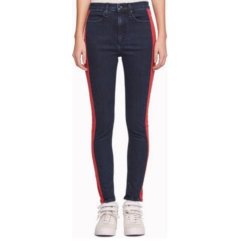 Rag & Bone Indigo Mazie Skinny Stretch Jeans