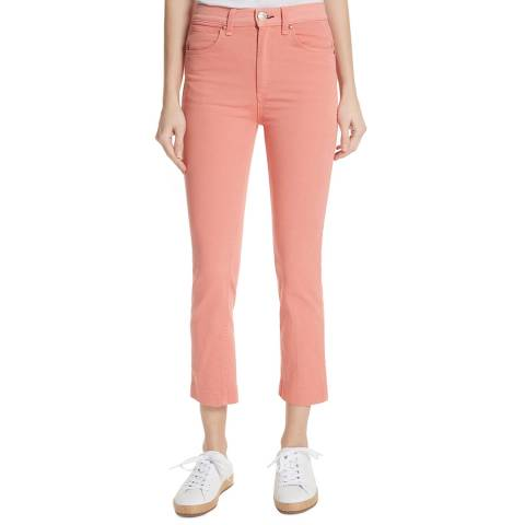Rag & Bone Peach Vintage Cigarette Stretch Jeans