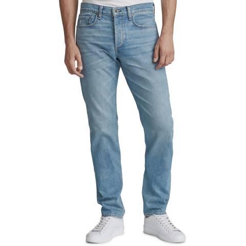 Rag & Bone Sky Blue Straight Stretch Jeans