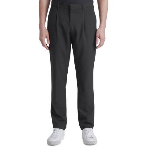 Rag & Bone Black Blade Tapered Wool Trousers