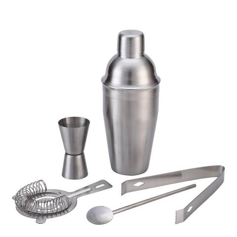 Taylor's Eye Witness 5 Piece Stainless Steel Cocktail Set