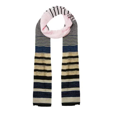 Missoni Multi Metallic Stripe Scarf