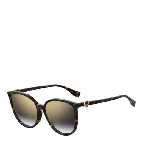Fendi Women's Brown Sunglasses 58mm