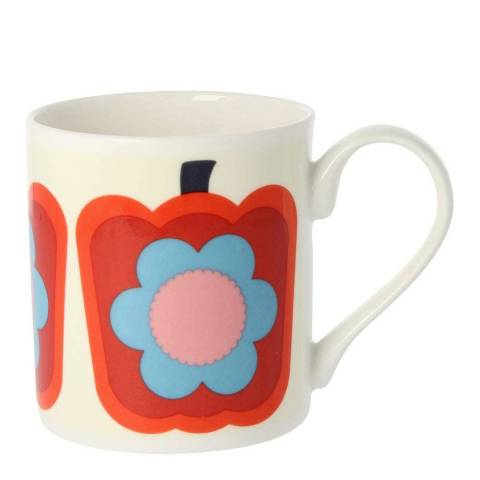 Orla Kiely Set of 2 Red Peppers Mugs