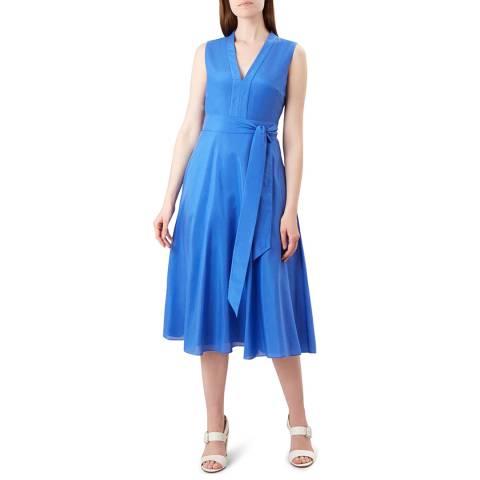 Hobbs London Blue Regina Dress