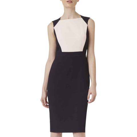 Hobbs London Navy Shea Pencil Dress