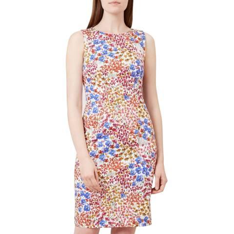 Hobbs London Multi Floral Fiona Dress