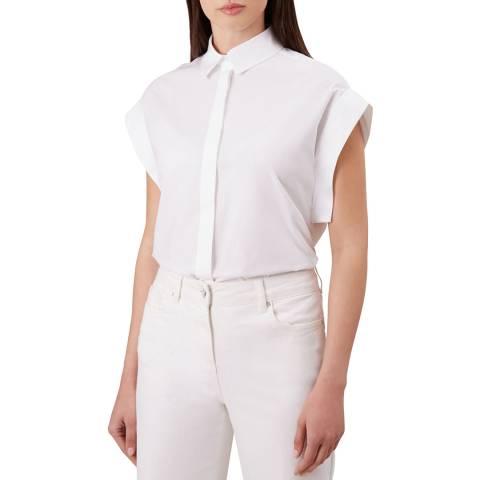Hobbs London White Susanna Shirt