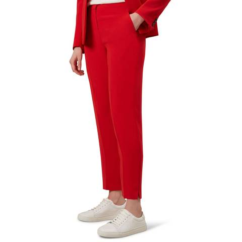Hobbs London Red Larissa Trousers