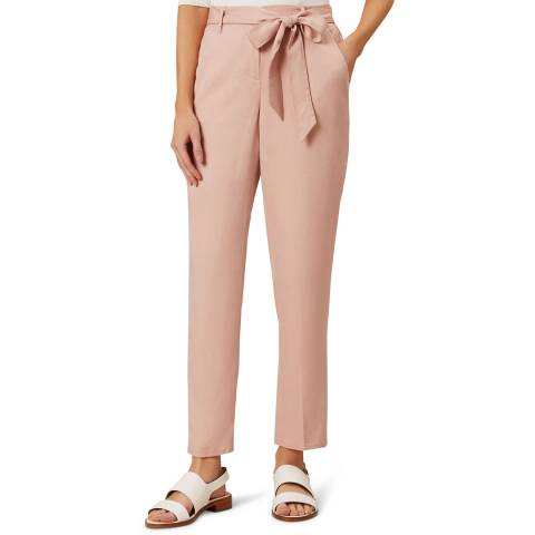Hobbs London Pink Miah Trousers
