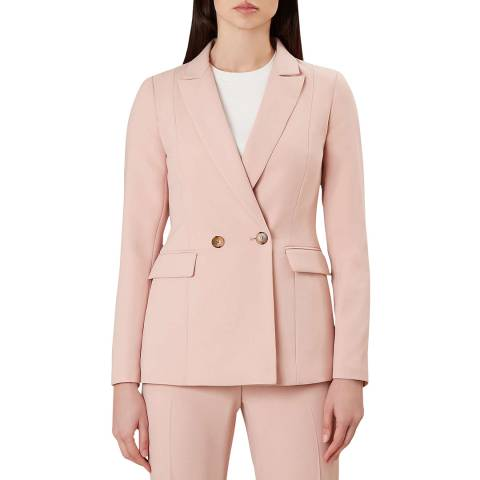 Hobbs London Pink Adelaide Jacket
