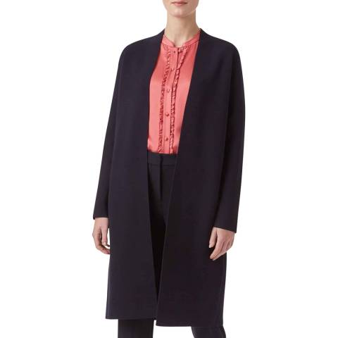 Hobbs London Navy Molly Cardigan