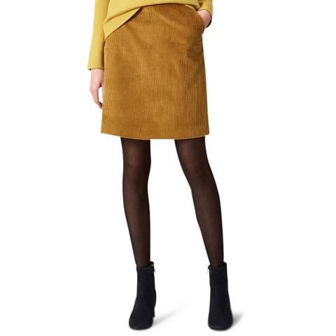 Hobbs London Yellow Hannah Skirt