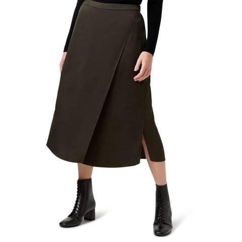 Hobbs London Dark Green Dionne Skirt