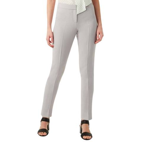 Hobbs London Grey Alexia Tapered Trousers