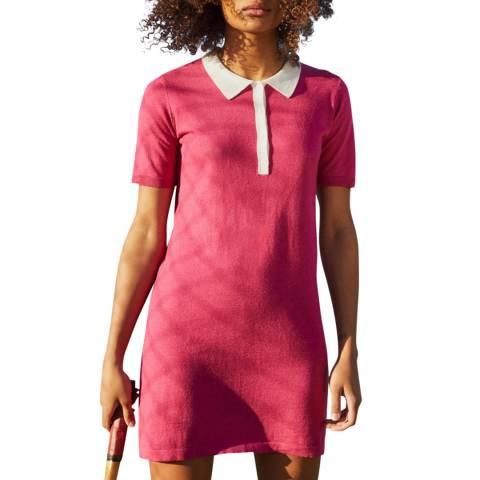 Rodier Pink Mini Short Sleeve Dress