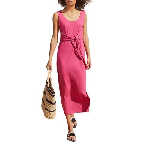 Rodier Pink Sleeveless Dress