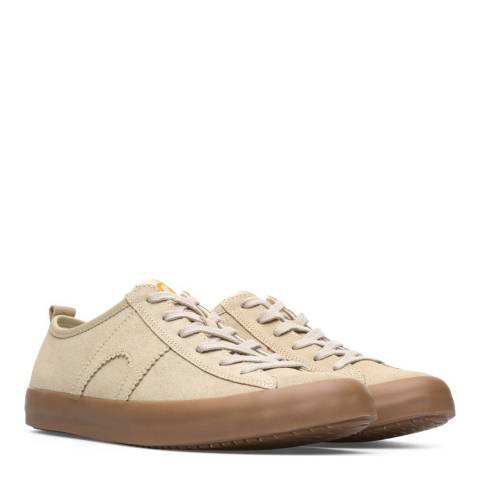 Camper Beige Suede Imar Sneakers