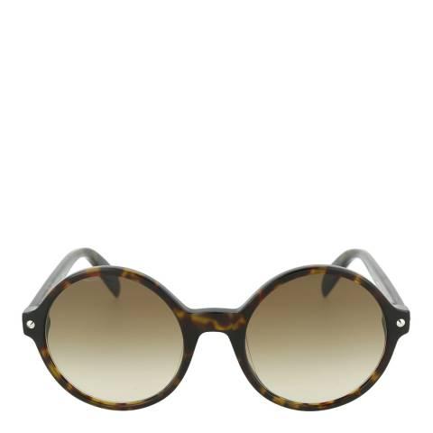 Alexander McQueen Women's Havana Alexander McQueen Sunglasses 54mm