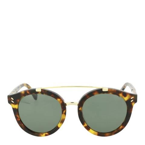 Stella McCartney Women's Havana Green Stella McCartney Sunglasses 50mm