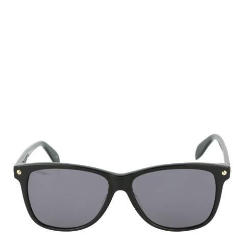 Alexander McQueen Women's Black Alexander McQueen Sunglasses 55mm
