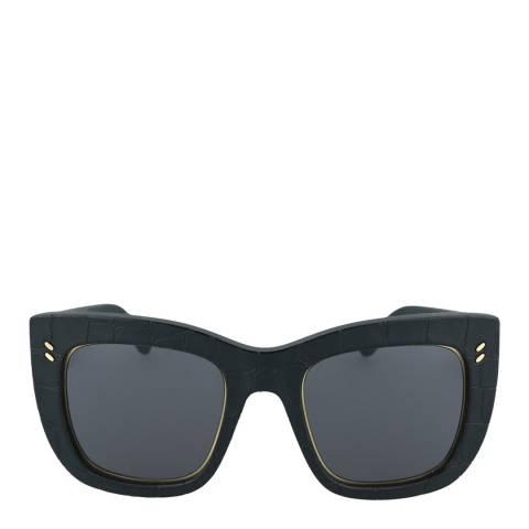 Stella McCartney Women's Black Smoke Stella McCartney Sunglasses 49mm