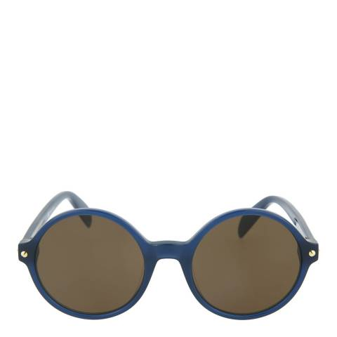 Alexander McQueen Women's Blue Alexander McQueen Sunglasses 56mm