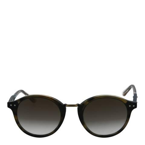 Bottega Veneta Unisex Brown Bottega Veneta Sunglasses 48mm