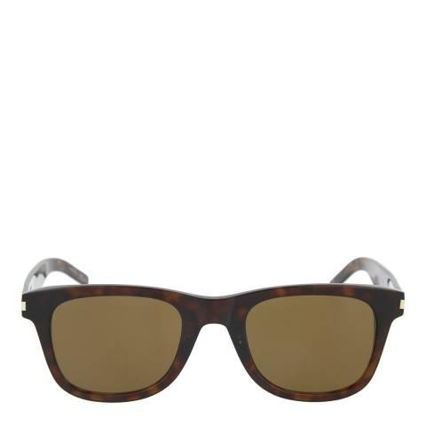 Saint Laurent Unisex Brown Saint Laurent Sunglasses 53mm