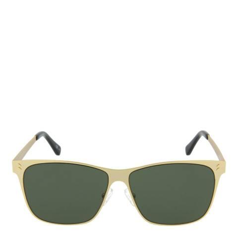 Stella McCartney Women's Gold/Green Stella McCartney Sunglasses 56mm