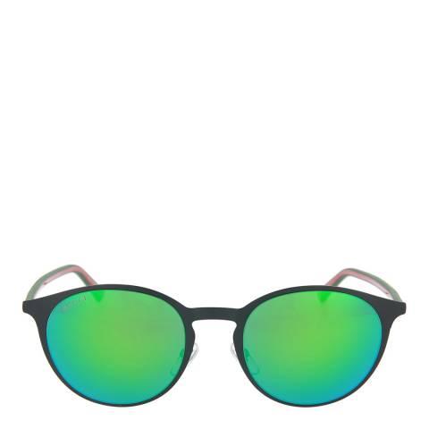 Gucci Unisex Green/Multi Gucci Sunglasses 52mm