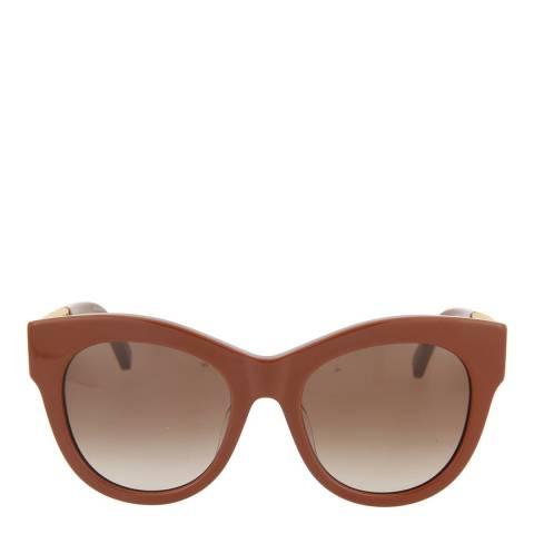 Stella McCartney Women's Red/Brown Stella McCartney Sunglasses 54mm