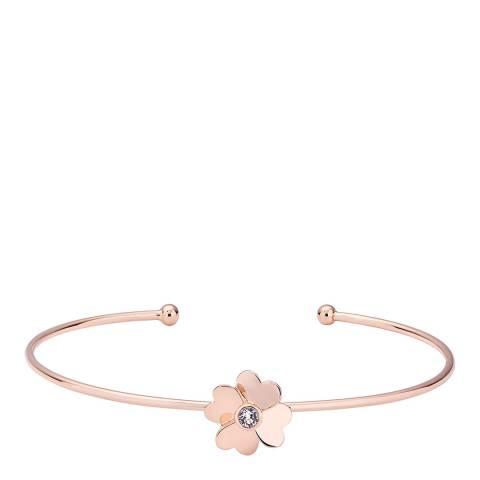 Ted Baker Rose Gold Hazarii Heart Flower Cuff