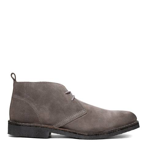 Kenneth Cole Grey Suede Hewitt Chukka Ankle Boot