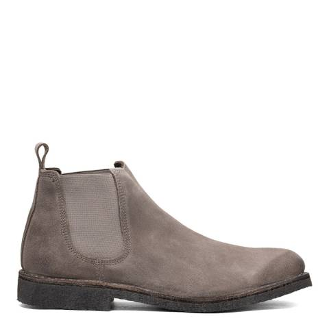 Kenneth Cole Grey Suede Hewitt Chelsea Ankle Boot