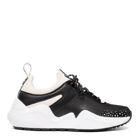 Kenneth Cole Black/White Maddox Jogger Sneakers