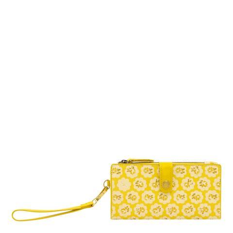 Cath Kidston Soft Yellow Freston Phone Wallet
