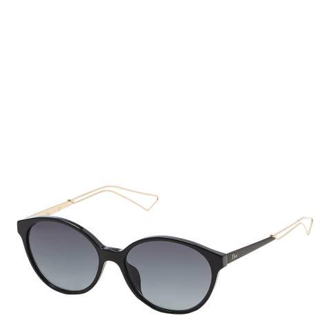 Dior Women's Black/Rose Gold Dior Sunglasses 57mm