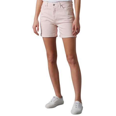 7 For All Mankind Pink Boy Shorts