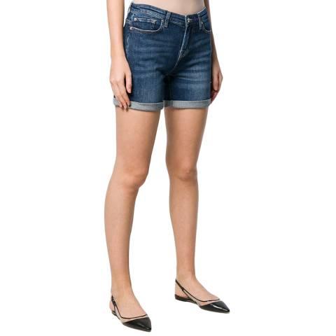 7 For All Mankind Indigo Boy Shorts