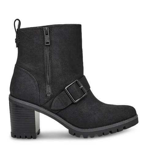 UGG Black Fern Ankle Boots
