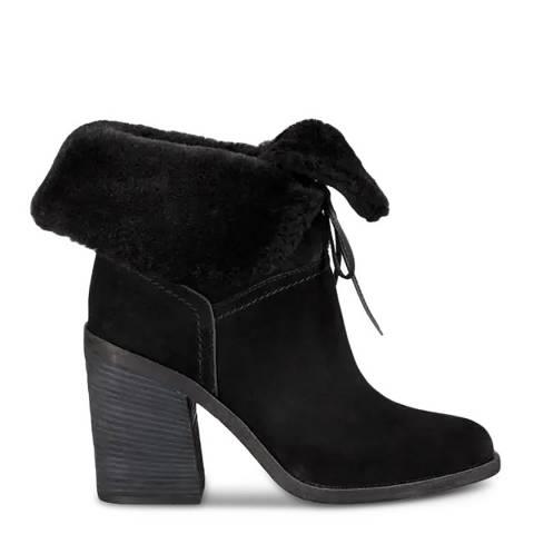 UGG Black Jerene Suede Ankle Boots