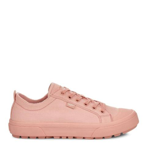 UGG Pink Aries Canvas Trainers