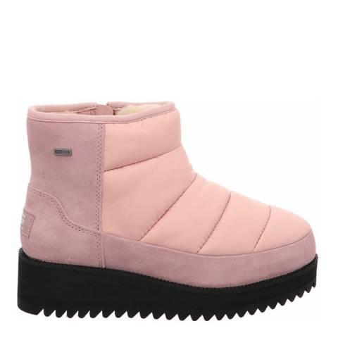UGG Pink Ridge Mini Snow Boots