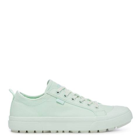 UGG Mint Aries Cotton Canvas Trainers