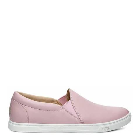 UGG Pink Kitlyn Leather Sneakers