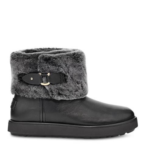 UGG Black Classic Berge Mini Boots