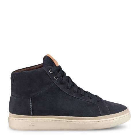 UGG Navy Cali High Top Sneakers
